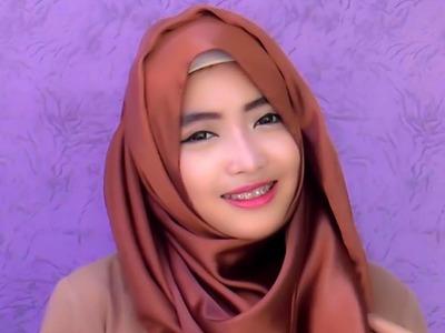 Hijab Tutorial Pashmina | Wide Shawl Simple