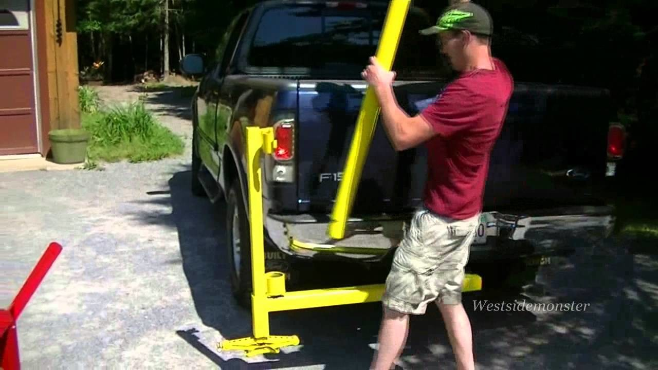 Homemade Receiver Hitch Crane