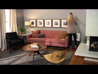 How To Create A Modern Frame Wall | Hanging Picture Frames | Room & Board