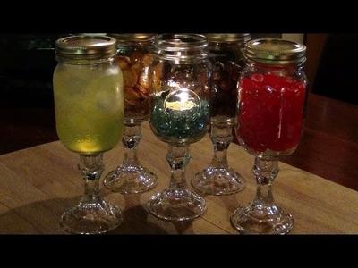 How To Make Redneck Wine Glasses