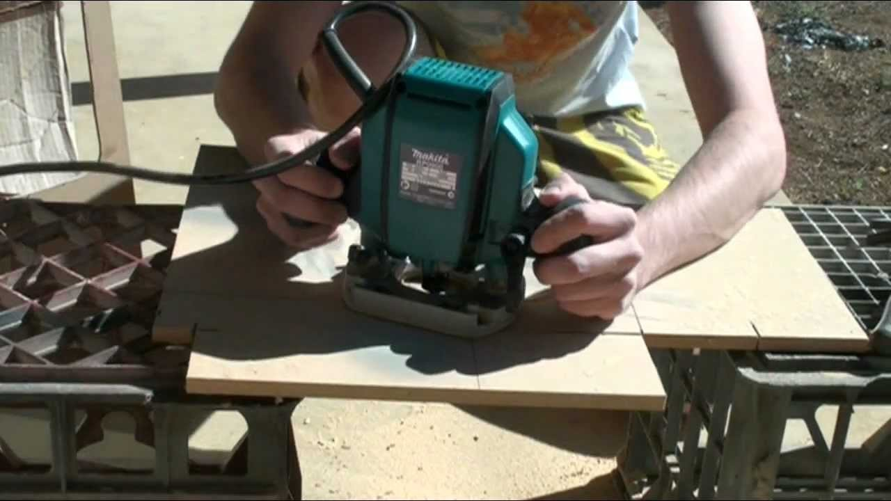 How To: Make Router Circle Jig Guide Cheap Easy DIY Quick
