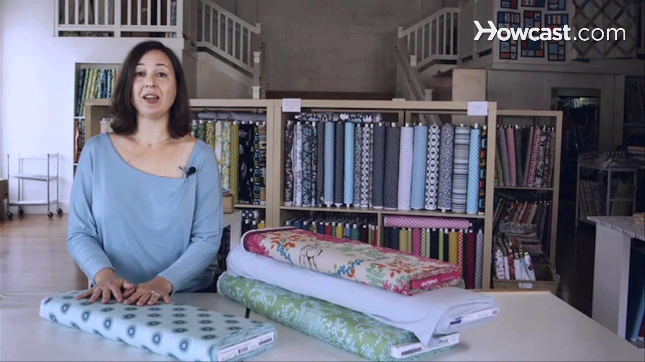 How to Pick a Fabric | Sewing Lessons