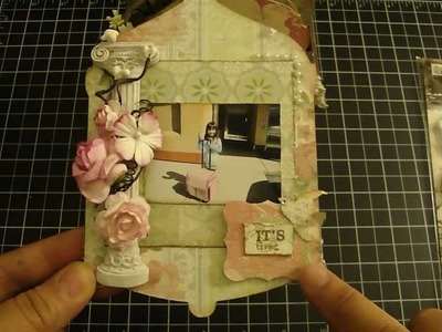 Mommy & Me Crop Bird Cage Mini Album
