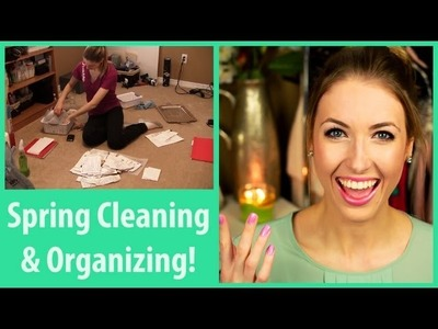 My Organizing Tips for Spring!! (& Help Me Clean my House!)