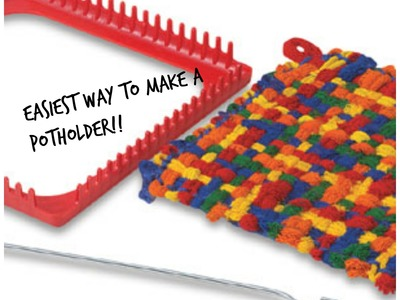 Part 1 how to make a potholder