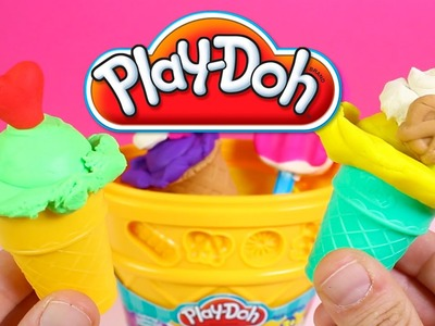 Play-Doh Sweet Shoppe Ice Cream Cone Container Craft Kit