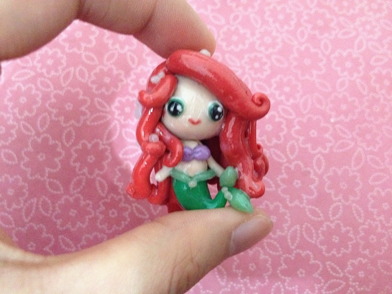 Polymer Clay Tutorial: Ariel (The Little Mermaid)
