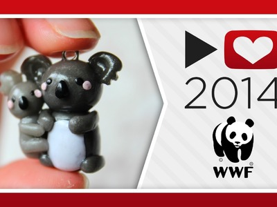 Project for Awesome 2014: WWF | Koalas Polymer Clay Tutorial