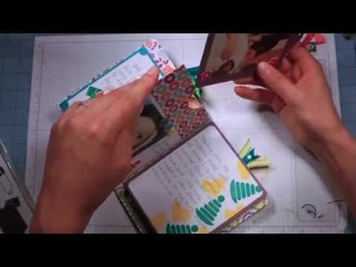 Scrappy Wednesday: 6 X 6 Quick and Easy Mini Album Stampin' Up!