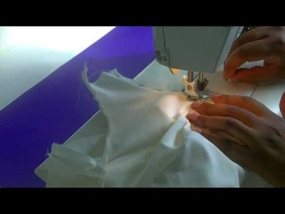 Sewing an Armhole and Neckline Facing