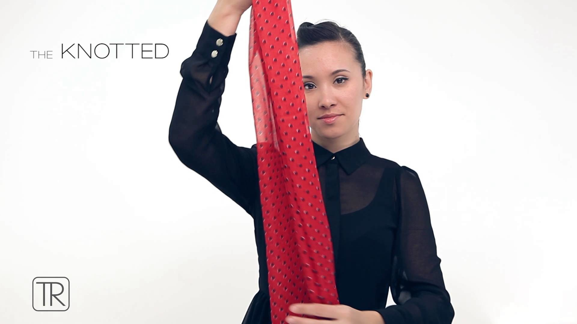 The art of accessories: how to tie a scarf with Tie Rack. Part 2