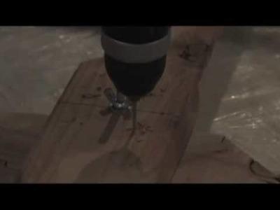 WIND TURBINE BLADE DIY how to video Part 5 HAWT Windmi