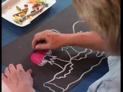 """Art Lessons For Children v.2,  """"Easy Art Projects"""" www.coycreek.com.flv"""