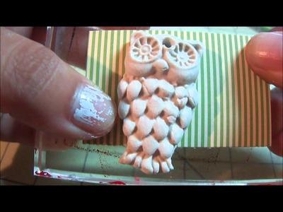 AYTT Episode #2:  Paper Clay Embellishments