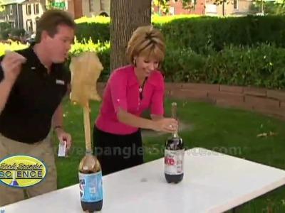 Cool Science Experiment - Original Mentos Diet Coke Geyser