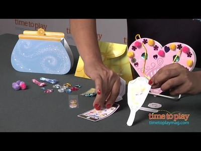 Disney Princess Make Your Own Paper Purses from Klutz