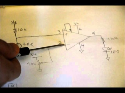 Electronic Tutorial - How To Make A Light Sensing Circuit From Scratch!.wmv
