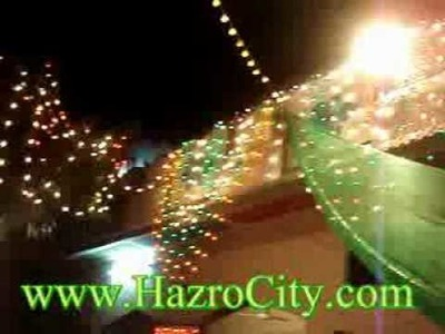 Home Decoration Style during wedding ceremony in Hazro.