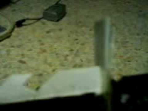 Homemade paper rambo dagger