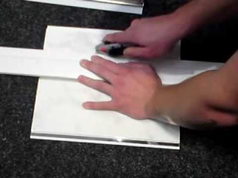 How To Cut PVC Walling