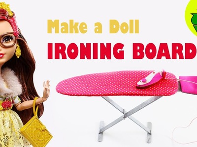 How to Make a Doll Ironing Board: - Easy doll Crafts
