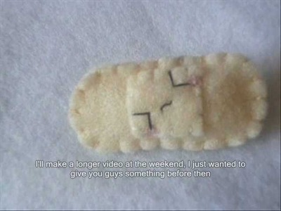 How to Make a Kawaii Band Aid. Plaster Plushie! (Plush Tutorial)