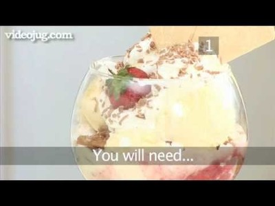 How To Make A Strawberry Sundae