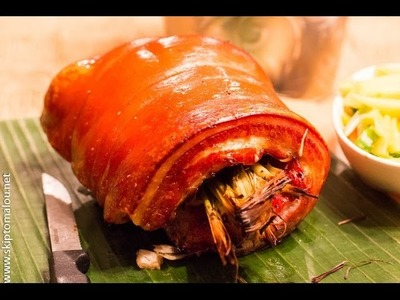 HOW TO MAKE THE BEST LECHON AT HOME
