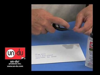 How to remove a postage stamp