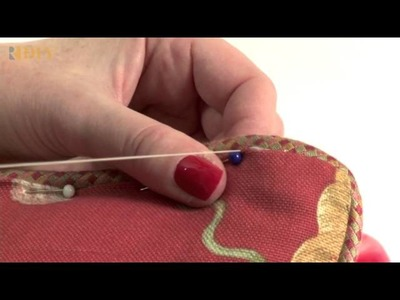 How-To Sew a Pillow Closed