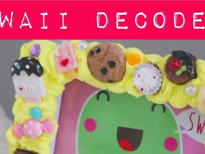 Kawaii D.I.Y: decoden photoframe ^__^ MostCutest.nl klei tutorial