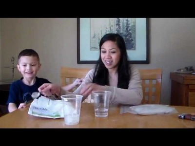 Polymers in DIAPERS!  Super Absorbent Polymer Science Experiment