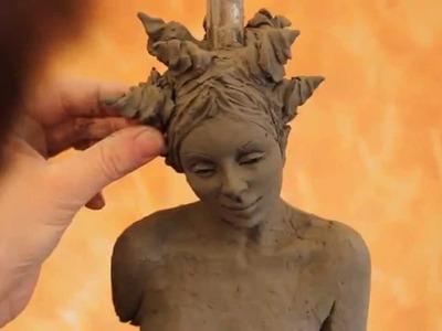 Tutorial: sculpting a female body in clay - www.sculpturered.com