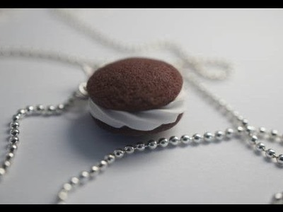 Whoopie PIe Tutorial, Polymer Clay Miniature Food Tutorial