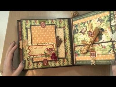 8x8 12 Days of Christmas Mini-Album featuring Graphic45