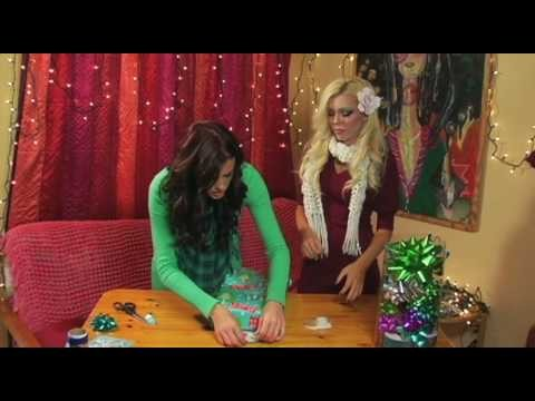 AMICLUBWEAR How to Wrap Christmas Holiday Gift Tutorial!