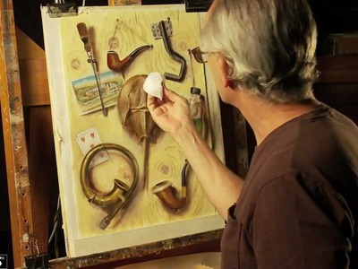 Arches Huile Oil Painting Paper - demo & how to use   Jackson's Art Supplies
