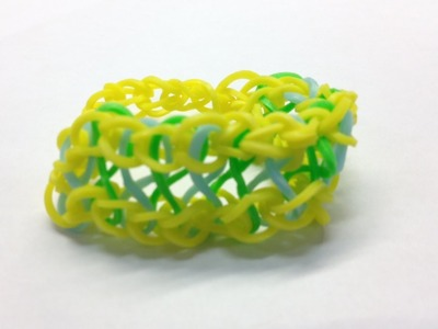 Bandaloom: How to make an Infiniti Bracelet