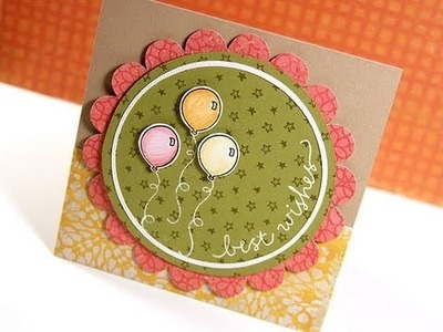 Best Wishes - Make a Card Monday #128