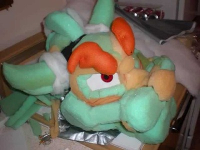 Bowser cosplay part 1