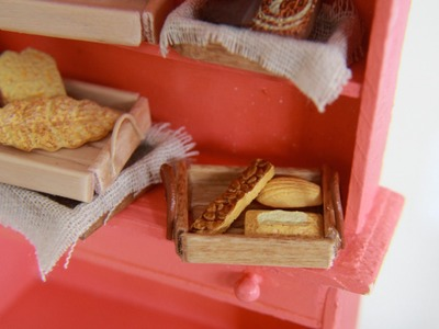 Bread Baskets - How To Make Miniature Wood Baskets