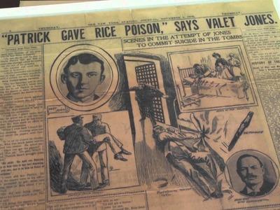 Centennial Series: The murder mystery behind Rice University