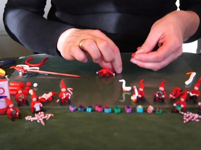 Christmas elves - Polymer (Fimo) clay tutorial