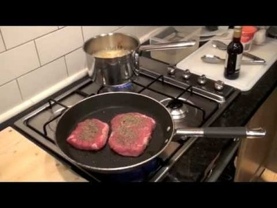 Cooking with Brett 018: Pepper Steak with Potato Wedges