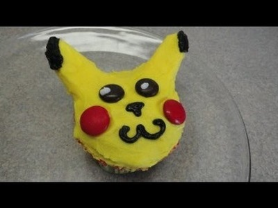 "Decorating Cupcakes #58: Pokemon ""Pikachu"""