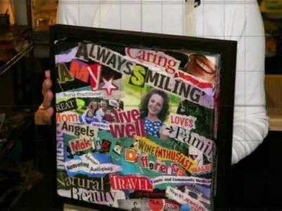 Decoupage Canvas Art Gifts