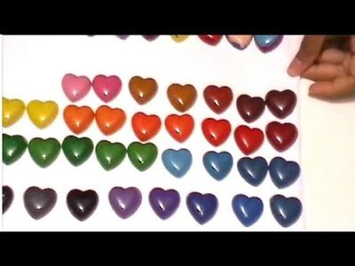 {DIY} Heart Crayons