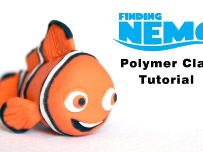 Finding Nemo (Clown fish) Polymer Clay Tutorial
