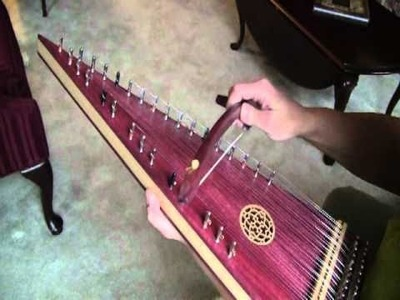 """""""How Great Thou Art"""" on bowed psaltery"""