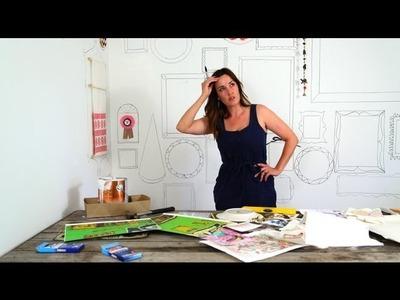How to Create A Custom Frame Wall